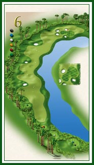 Creek hole 6