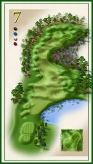 Oaks course hole 7